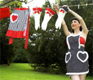 glamour girl aprons