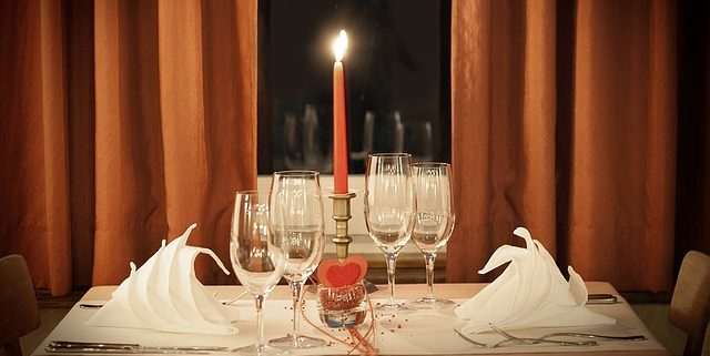 A romantic Valentine's Day dinner menu