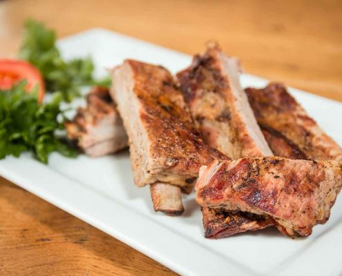 Guava and Chinese 5 Spice Pork Spare Ribs from Chef Diane Brown