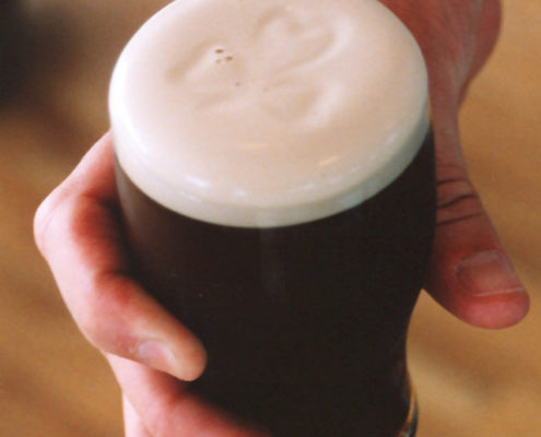 Guinness--romancing the Blarney Stone