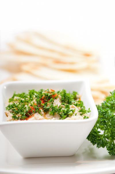 Traditional Greek Hummus for an Aphrodisiac, Greek Meal