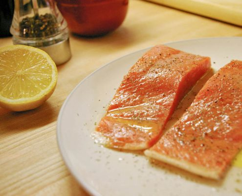 Atlantic Salmon with Irish Butter Sauce