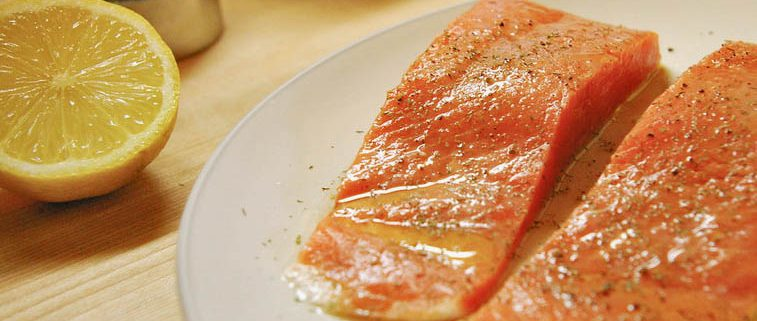 North Atlantic Salmon with Irish Butter Sauce