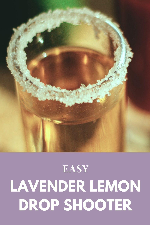 Lavender Lemon Drop Shooter Graphic