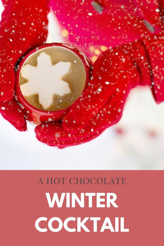 winter cocktail recipe graphic
