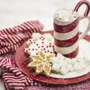 The Snuggler--a hot chocolate cocktail with a hint of mint