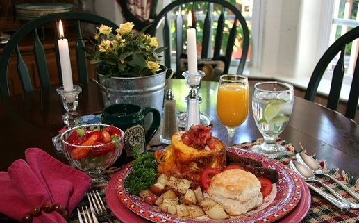 McCaffrey House Breakfast