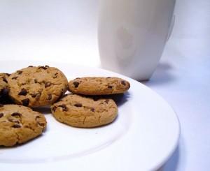 food pairing--milk and cookies