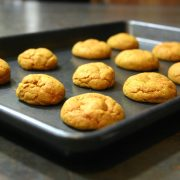 Gingersnaps with the recipe from Milk & Cookies Bakery