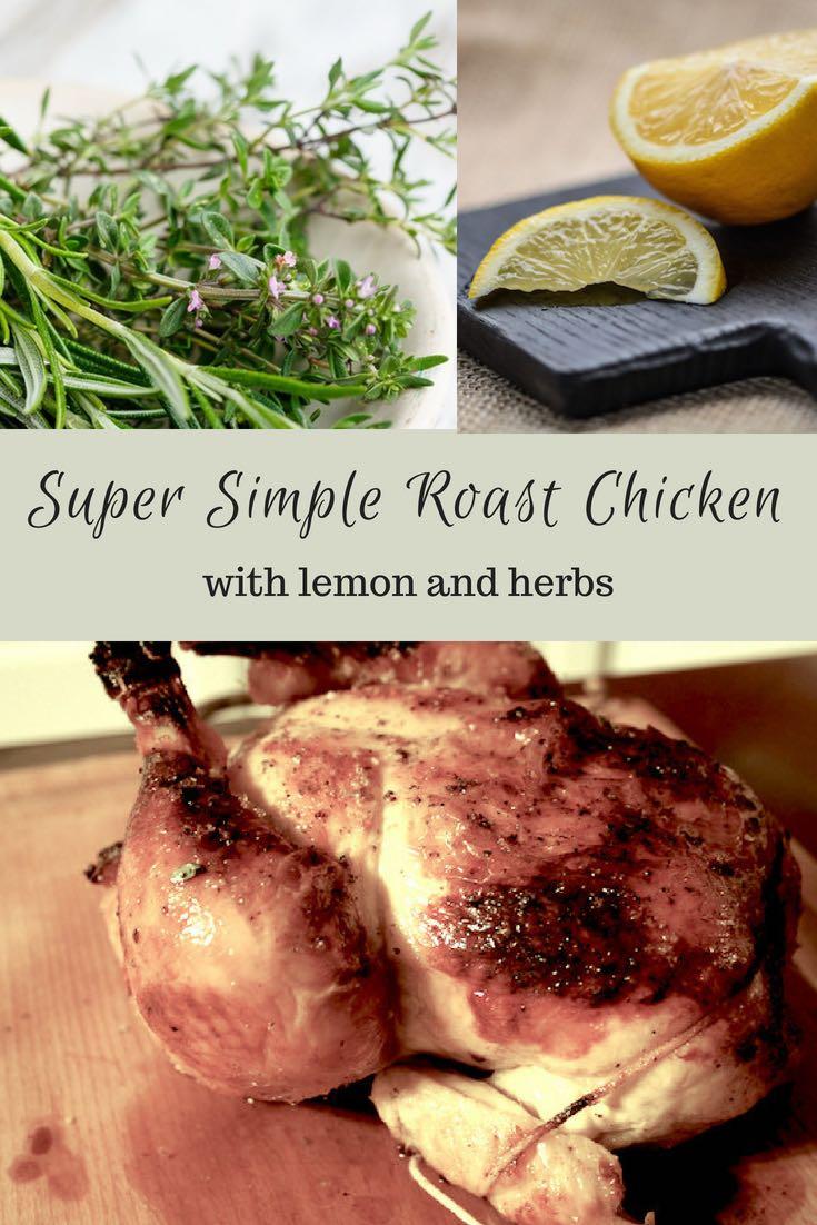 Recipe for Super Simple Roast Chicken