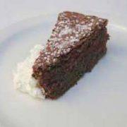 Flourless Chocolate Almond Cake | EatSomethingSexy.com