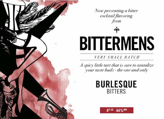 Burlesque cocktail bitters