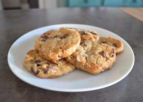 Aphrodisiac Chocolate Chip Cookies