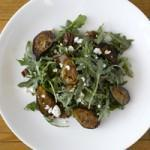 Grilled Fig, Arugula and Goat Cheese Salad