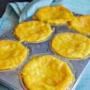 Mini Cheddar Cheese Quiche Recipe