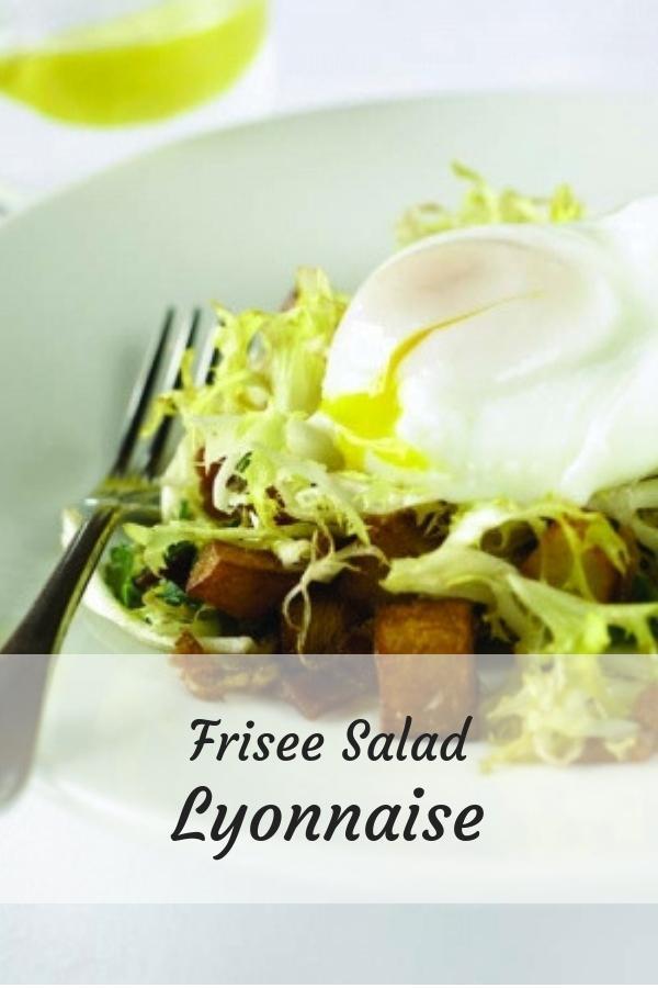 Frisee Salad Lyonnaise Graphic