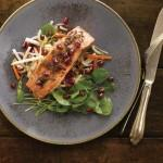 POM-Cider-Glazed Smoked Salmon with a Watercress Salad 3