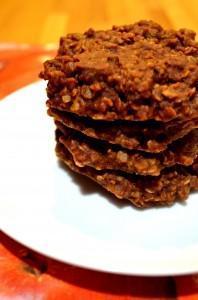 Chocolate Peanut Butter Oatmeal No Bake Cookies