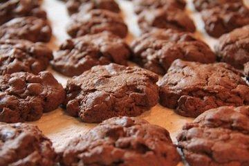 Espresso Chocolate Peanut Butter Chip Cookies