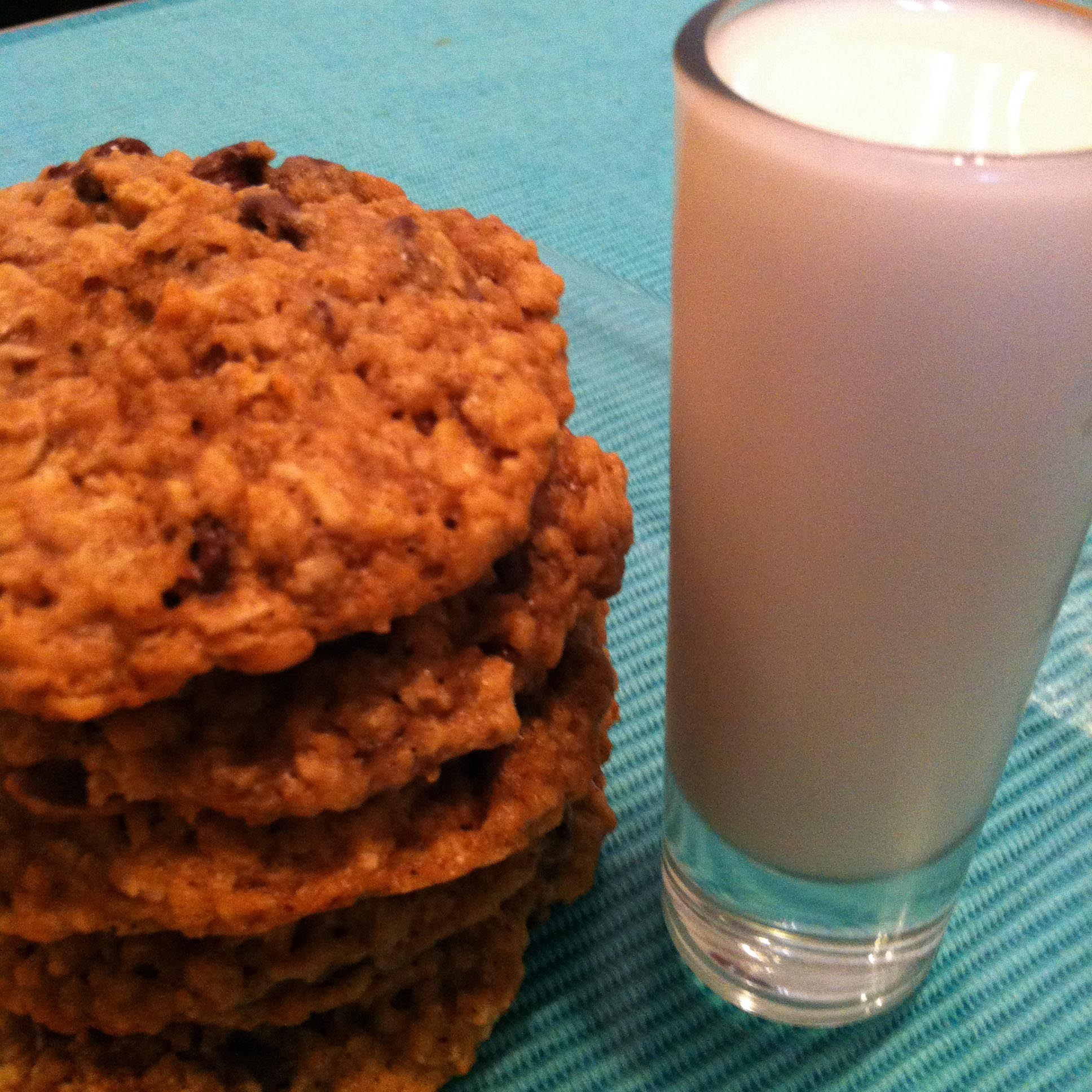 An oatmeal cookie three ways