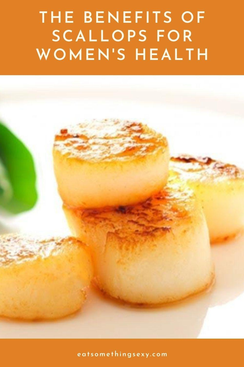 Scallops Nutrition for Women Graphic