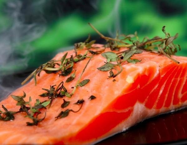 salmon, best food for men
