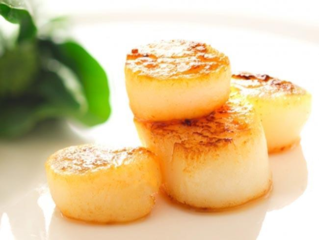 scallops-best food for women