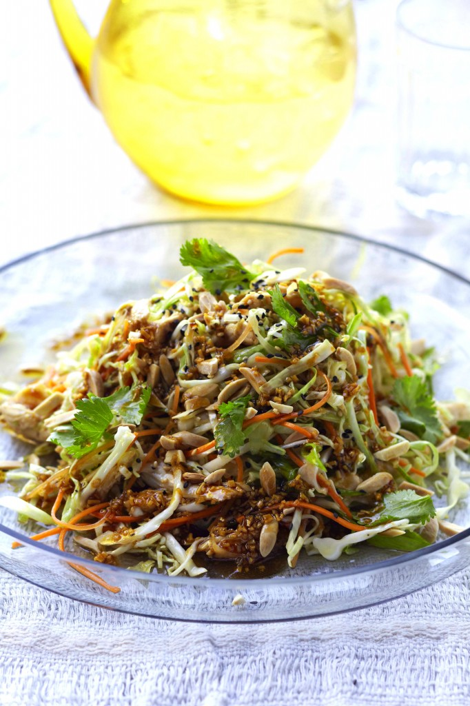 Chef Curtis Stone's Ginger-Sesame Chicken Salad