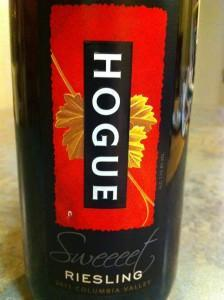 Hogue Riesling & Hogue Cellars Sweet Riesling -