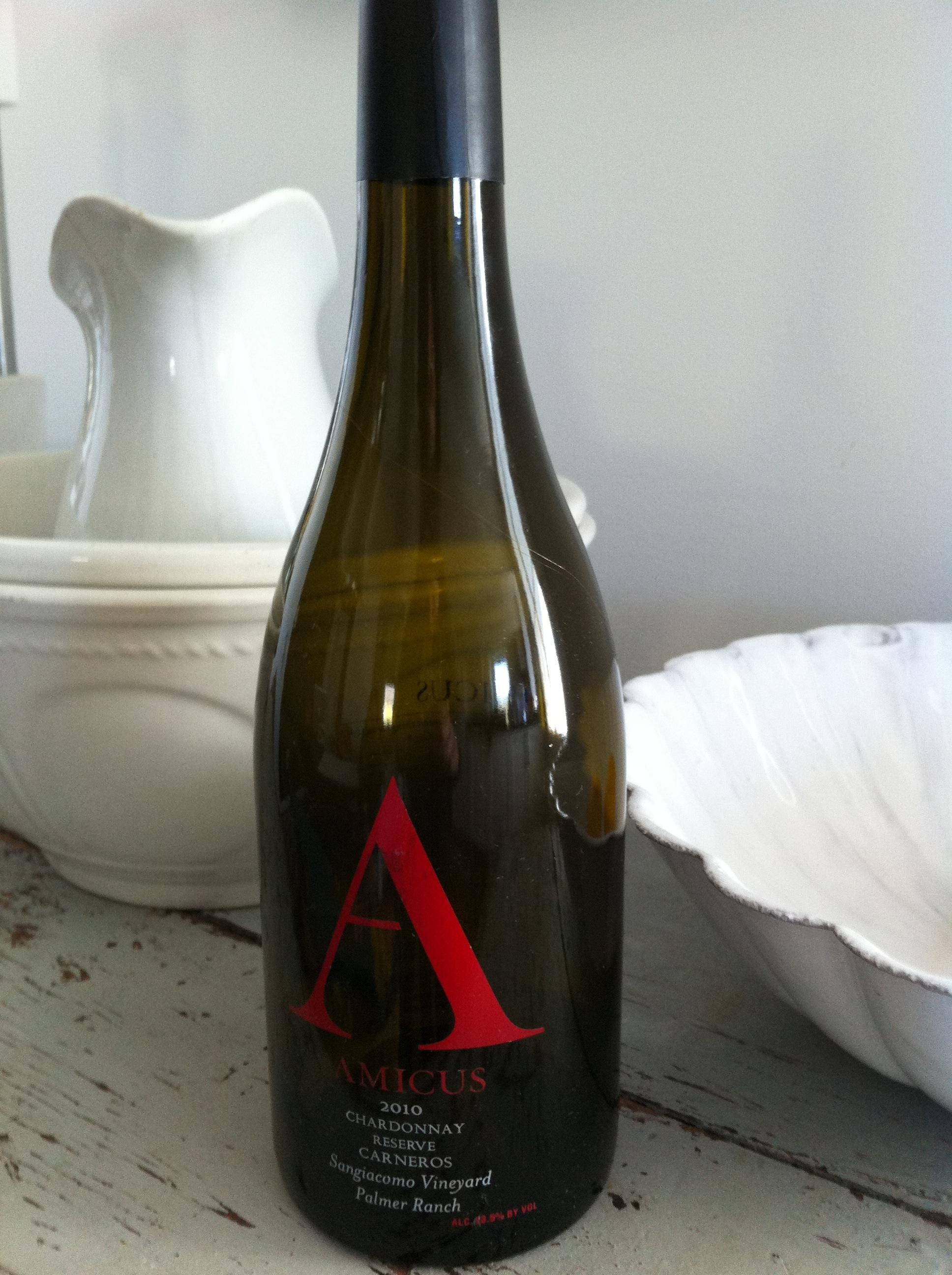 Amicus Sangiacomo Reserve Chardonnay
