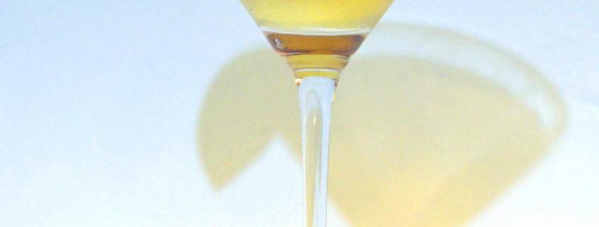 A Unique Bourbon Cocktail with Lemon Granita and Balsamic
