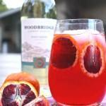 Blood Orange Pinot Grigio Fizz