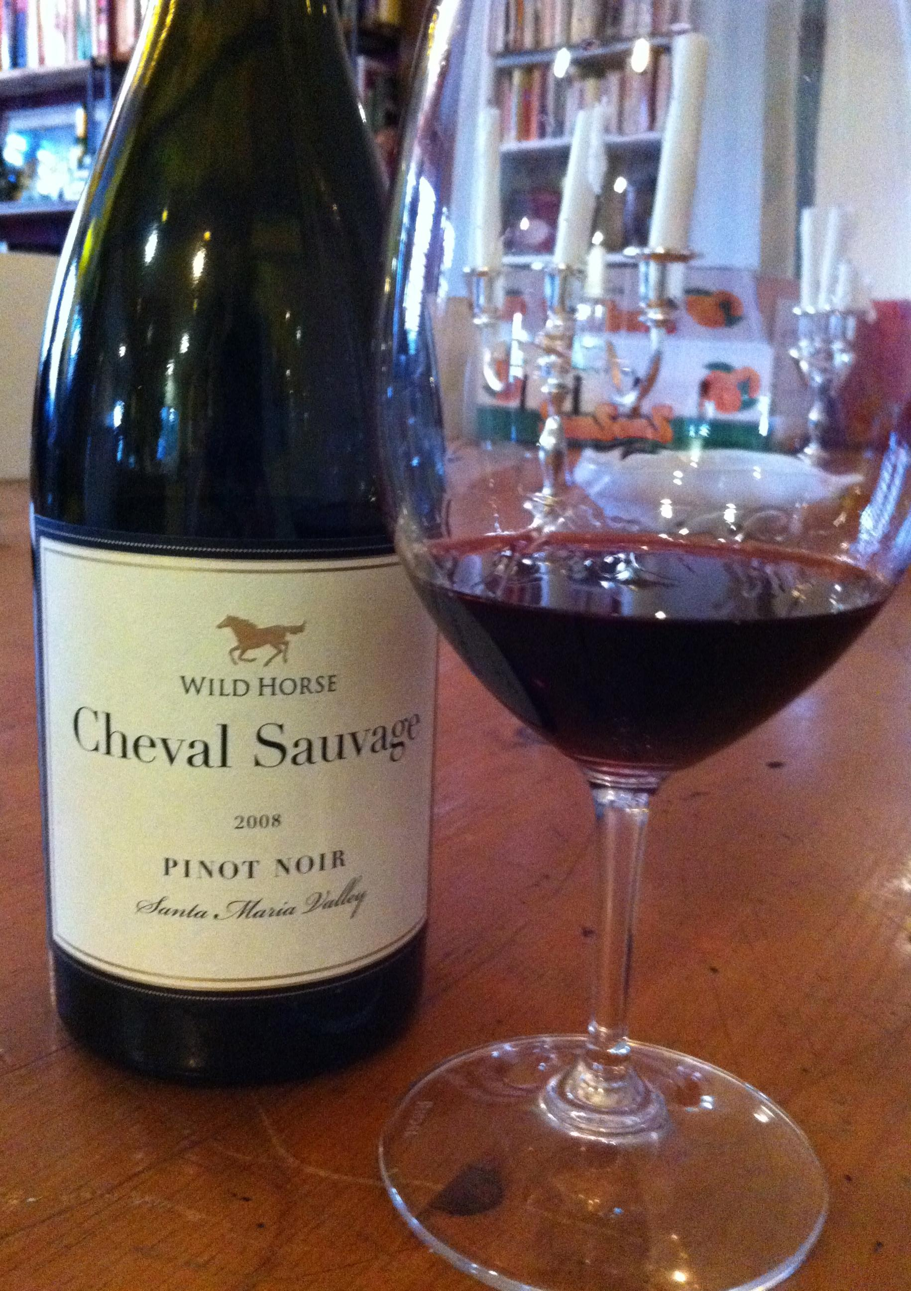 Wild Horse Cheval Sauvage Pinot Noir