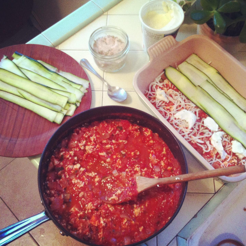 Zucchini Noodle Lasagna | EatSomethingSexy.com