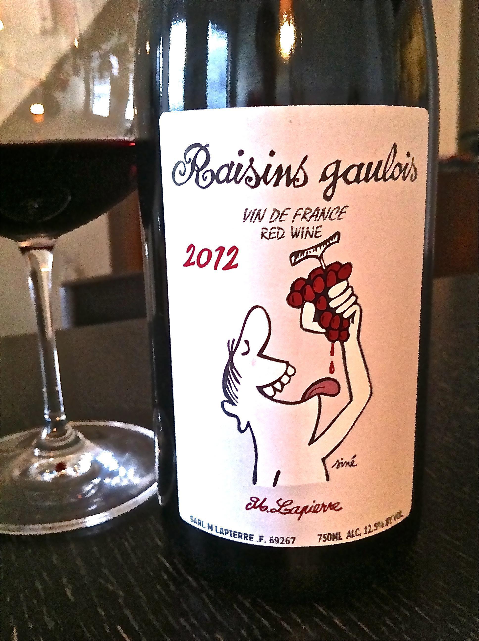 M. Lapierre Raisins Gaulois