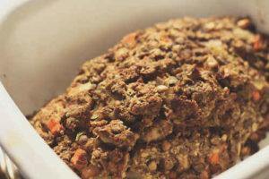 Lentil Grain Meatless Loaf