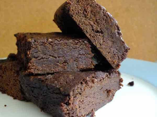 Black Bean Chocolate Brownies--moist and decadent!