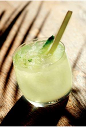 coconut vodka limeade
