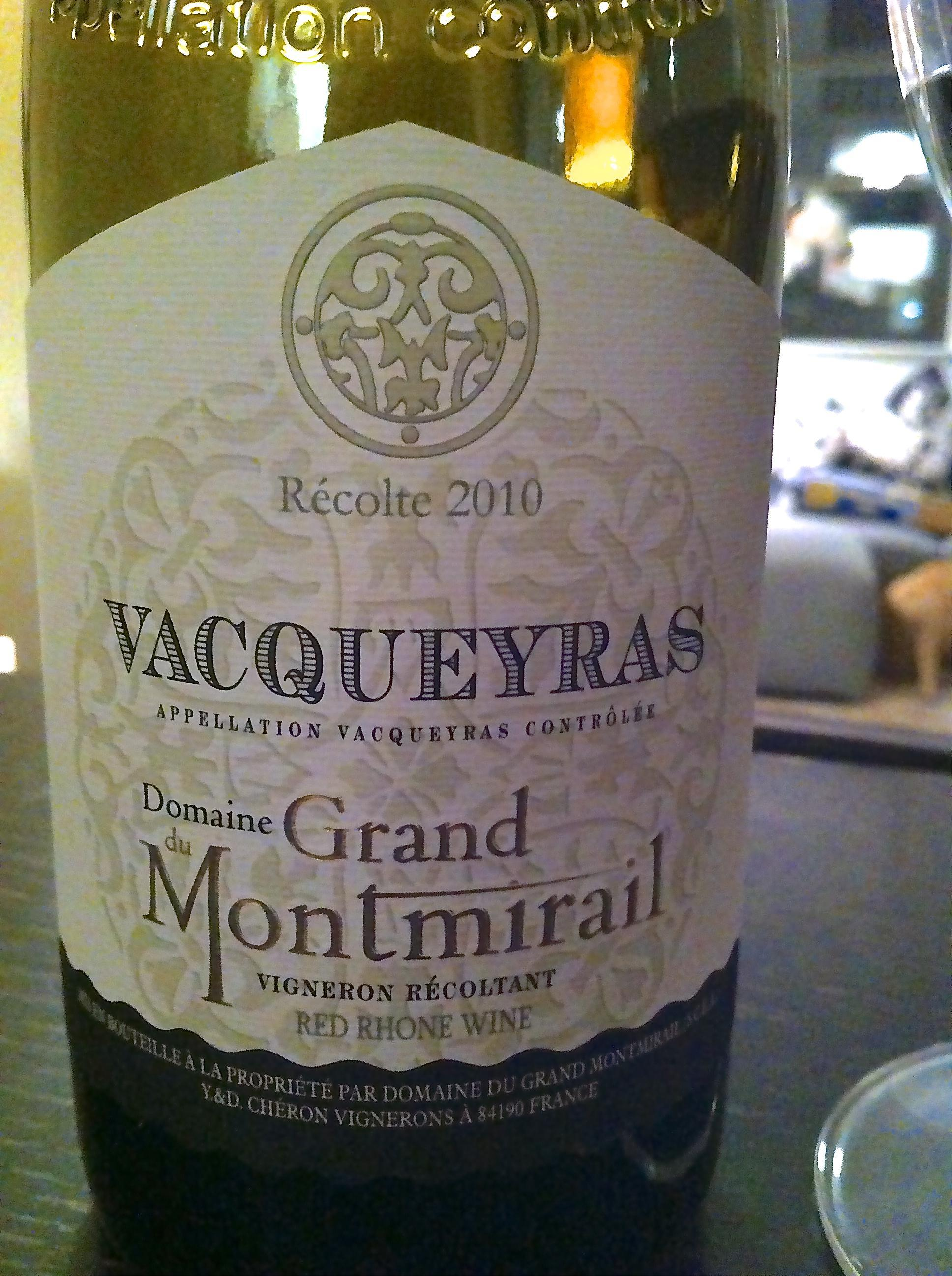Domaine du Grand Montmirail, Vacqueyras, Rhone Valley, France 1