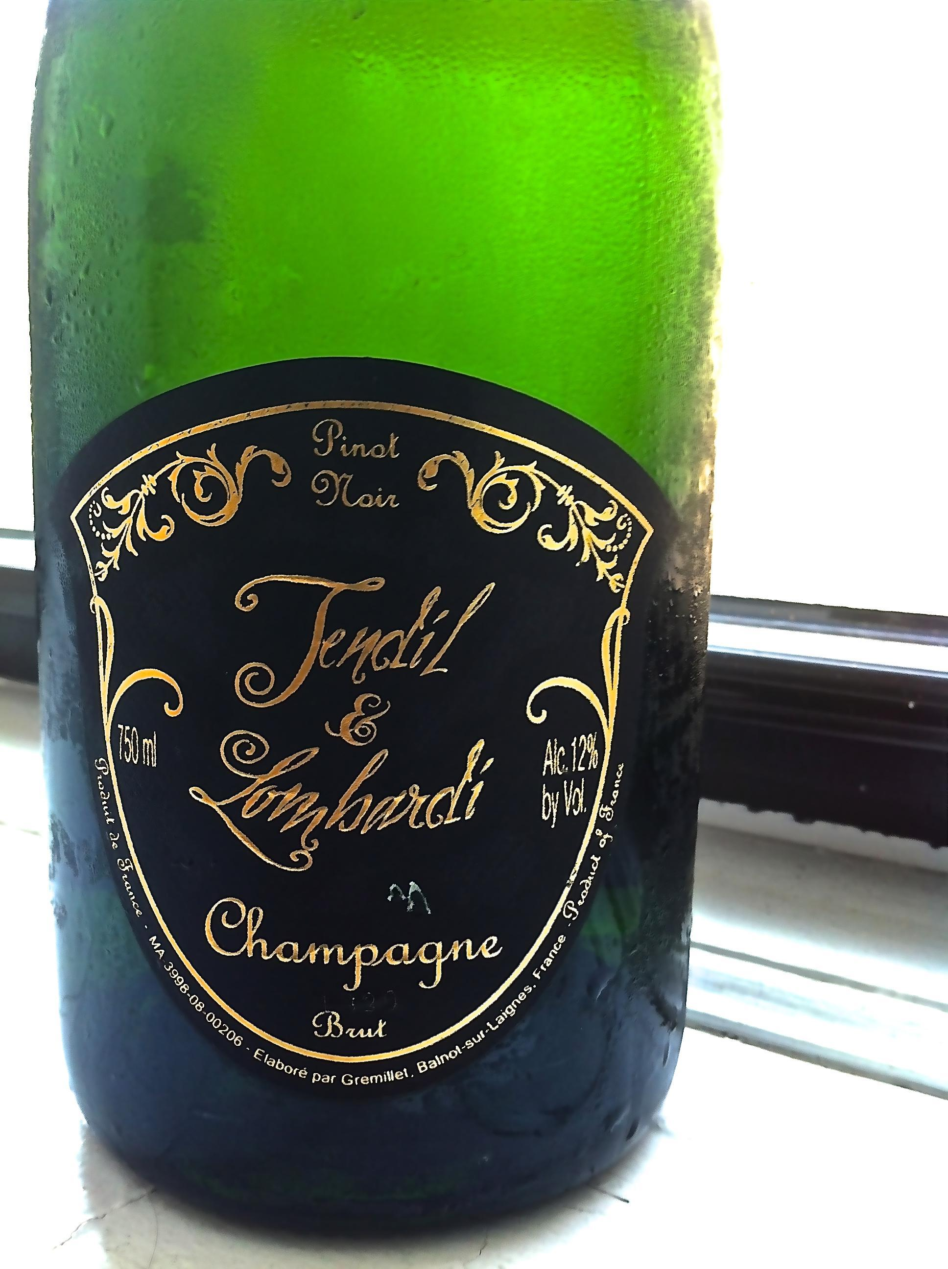 Tendil & Lombardi, Blanc de Noir, Champagne, France 6