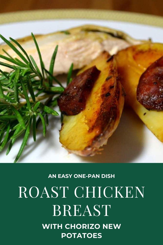 Roast Chicken Breast with Chorizo Potatoes Graphic