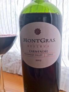 2012 MontGras Carmenere