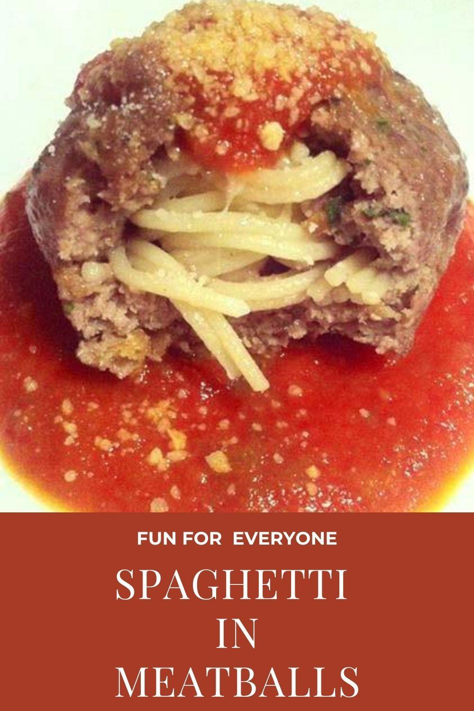 Spaghetti IN Meatballs Graphic
