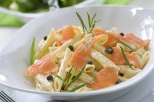 Recipe for Smoked Salmon Pasta with Cream Sauce