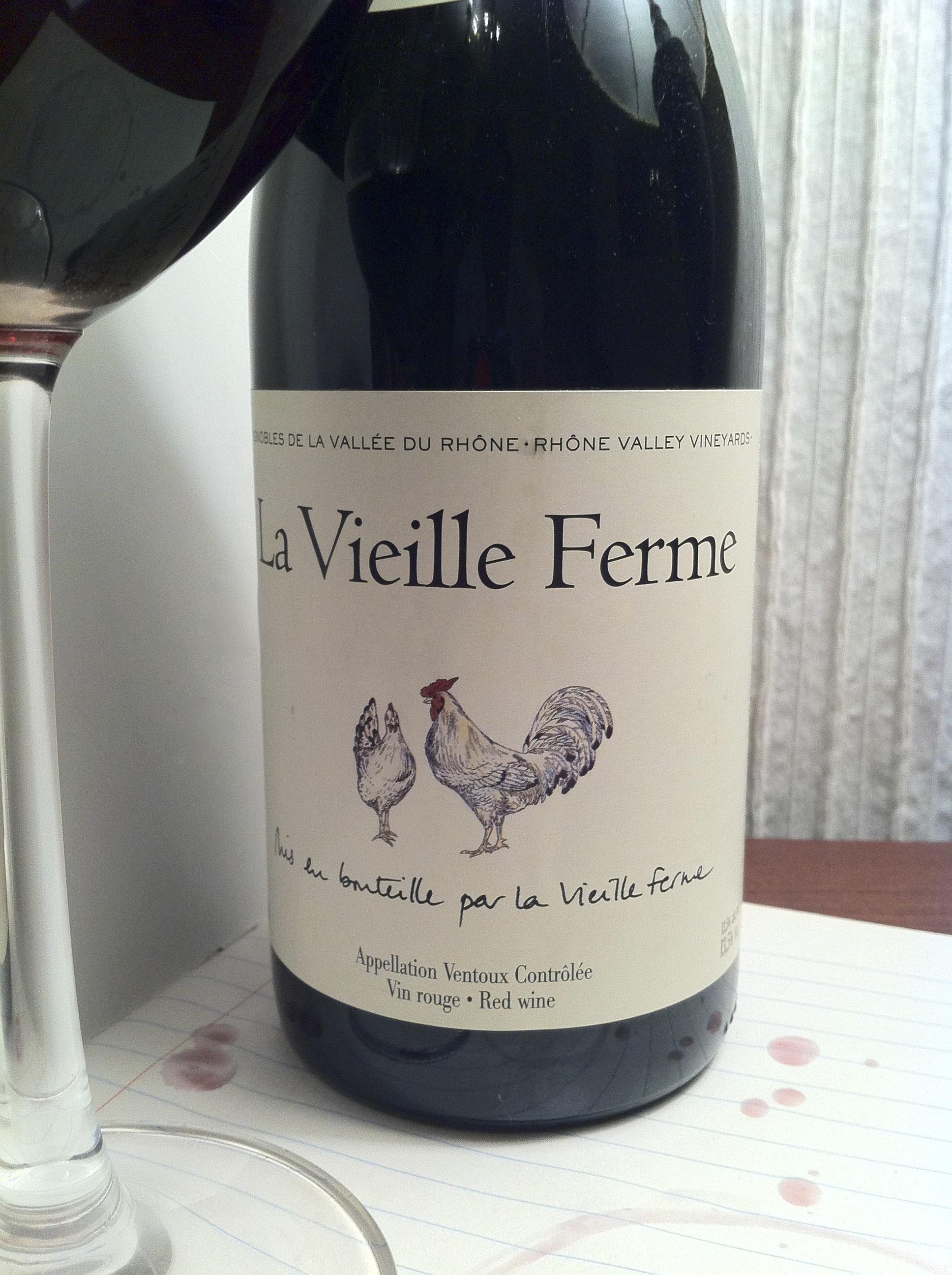 La Vieille Ferme Vin Rouge, Ventoux AC, France 2