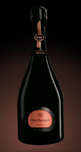 dom ruinart 1998 rose champagne