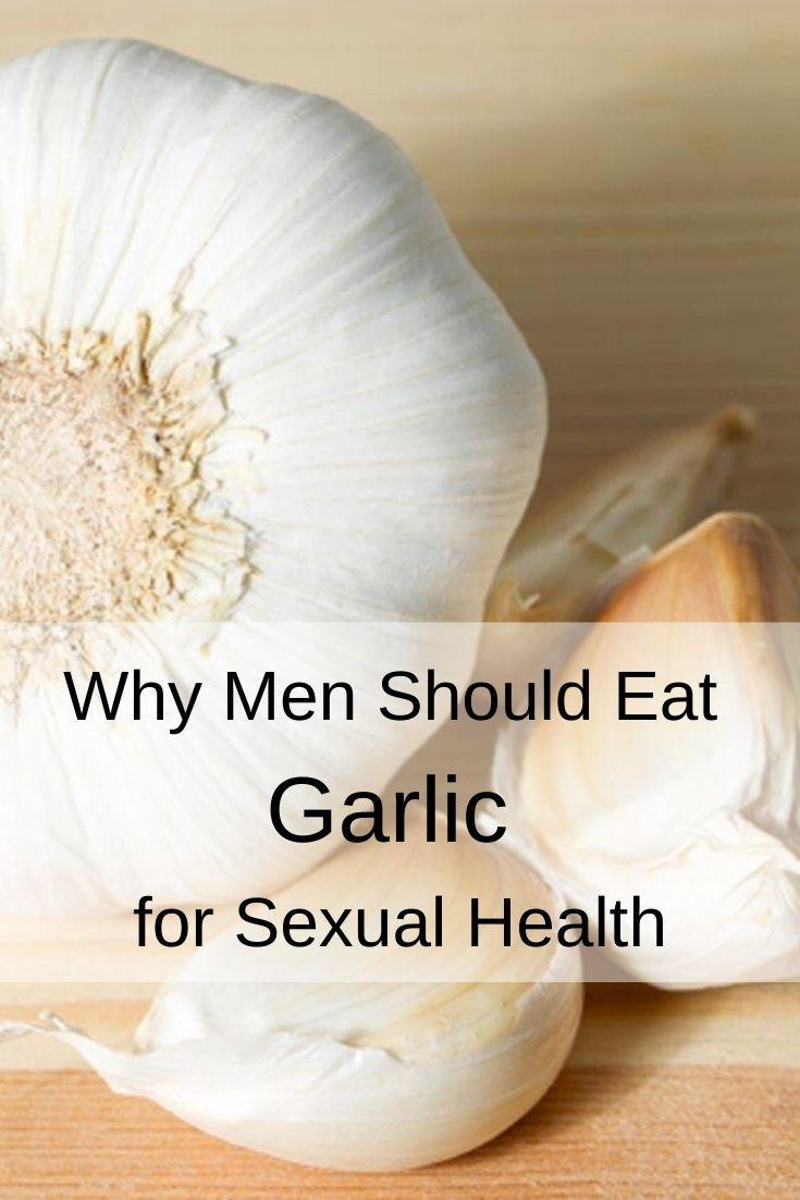 Health Benefits of Garlic Pinnable Graphic