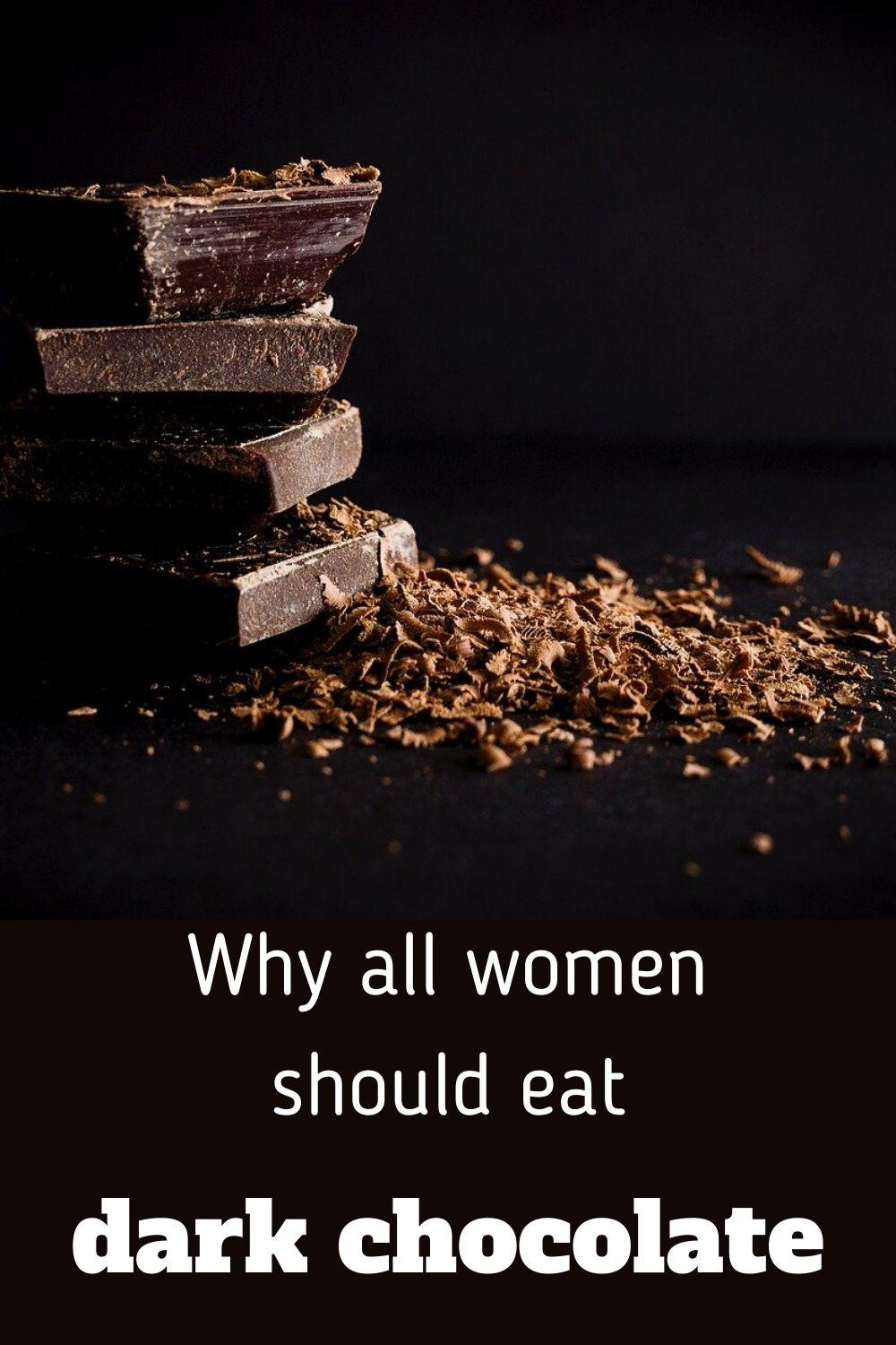 why all women should eat dark chocolate