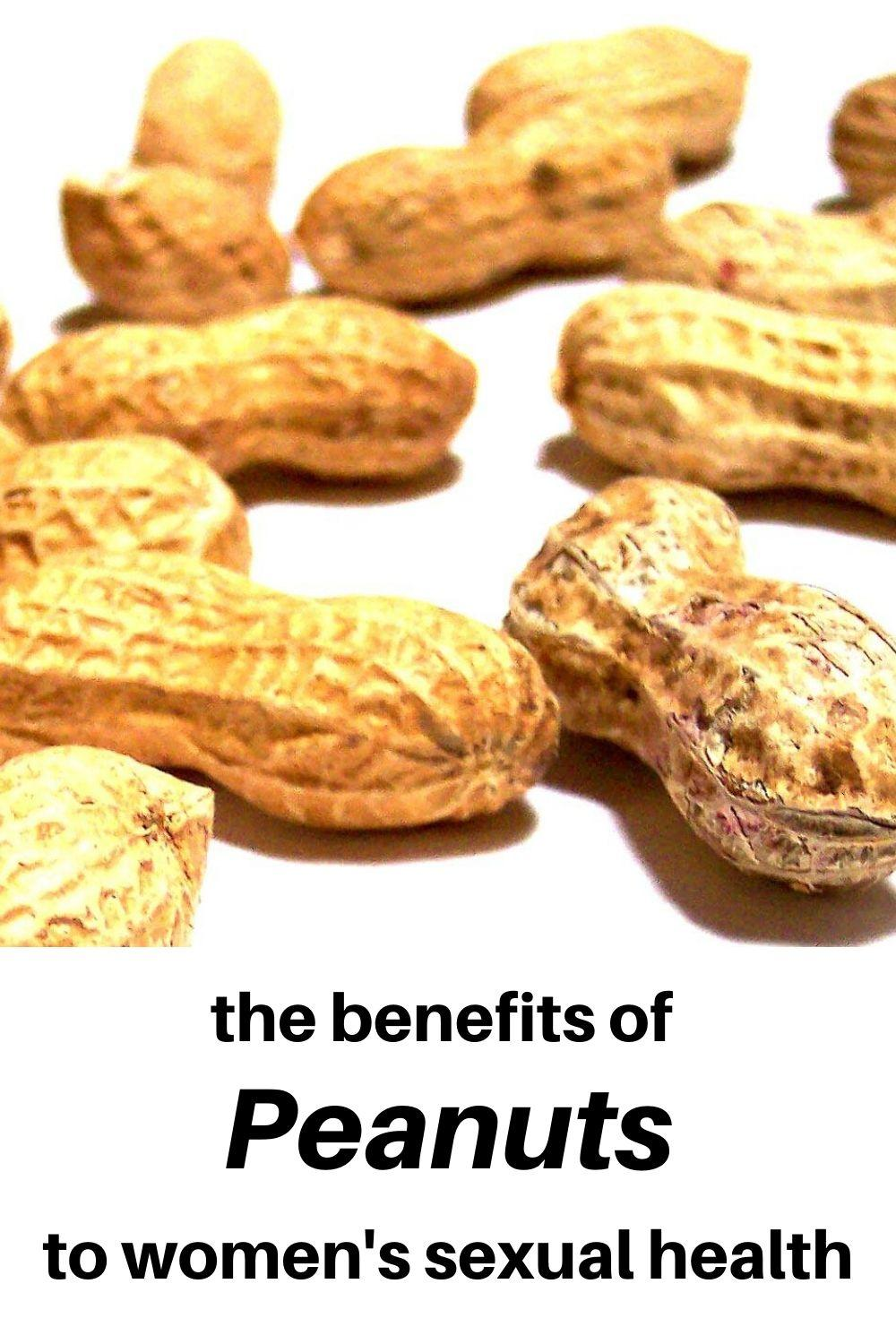 The health benefits of peanuts for women