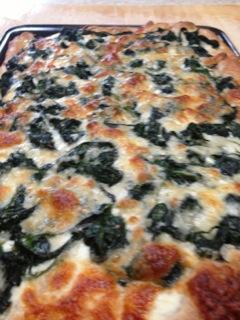 spinach pizza recipe